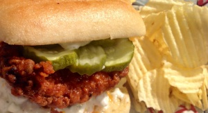 Hot Chicken Torta